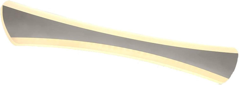 William 337 Spiegel Scheinwerfer Nordic Modern Minimalist Bad Wasserdicht Und Anti-fog Fcherfrmige Wandleuchte LED Spiegel Scheinwerfer [Energieklasse A +] (Farbe   Warm Weiß-14w 42cm)