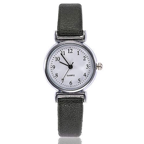 Förderung! LEEDY 2019 Mode Damen Einfach Analog Leder Quarz Armbanduhr Uhren Frauen Mädchen Elegante Wrist Watch