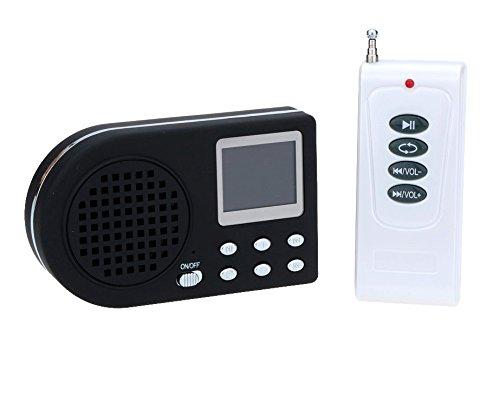 Llamador de aves digital, con reproductor de mp3, mando a distancia inalámbrico