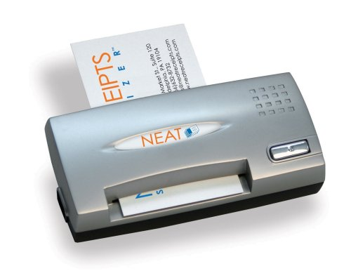 Best Price NeatReceipts Neat Business Cards Mobile Full Color Card Reader/Scanner