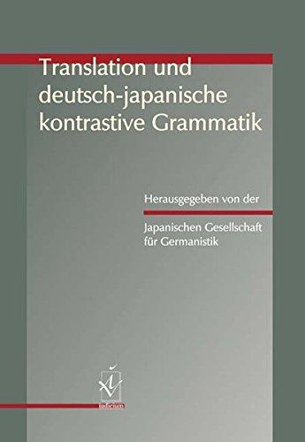 Translation und deutsch-japanische kontrastive Grammatik
