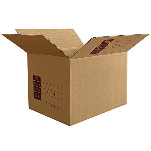 『ボックスバンク ダンボール 引っ越し 段ボール箱 120サイズ(記入欄付)10枚セット FD05-0010-c 強化材質』の1枚目の画像