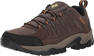 Columbia Men's Lakeview II Low Hunting Shoe, Cordovan, mud, 7.5 Regular US