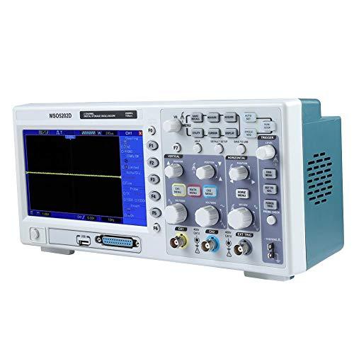 USB-Konnektivität 2in1 Logikanalysator Oszilloskop MSO5202D 200MHz für Elektrikerlabor(European regulations)