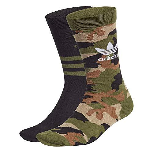 adidas Camo Crew Sock Hombre - algodón talla: M
