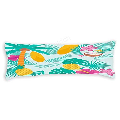 pealrich Fundas de almohada para el cabello y la piel de 30,5 x 40,6 cm, patrón de plantas savia verde decorativo Lumbar funda de cojín fundas para sofá dormitorio coche