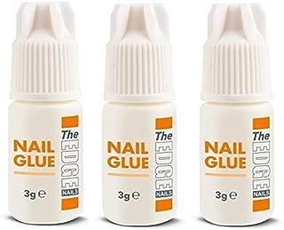 The Edge 3G Adhesive False Super Strong Nail Tips - Pack of 3
