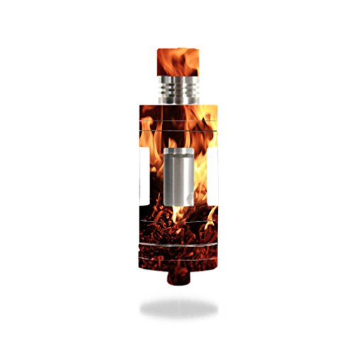 Decal Sticker Skin WRAP Flaming Embers Decal Sticker NOT an Actual Vape for Aspire Triton Mini Tank