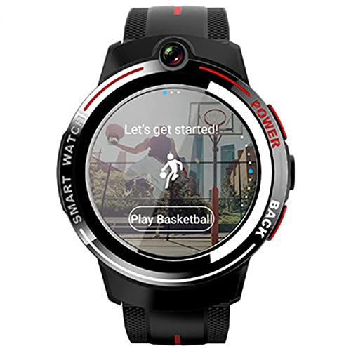 XYZK 3G + 32G Appllp 3 Android Smart Watch Men's 1.39 Pulgadas Pantalla Redonda WiFi 4G Smartwatch Femenino Doble Cámara Llamada Móvil Prohibición