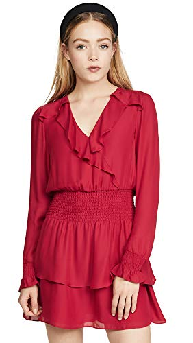 Parker Women's Maisy Dress, Ruby, Red, Small