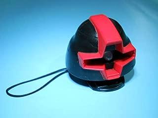 モノアイが光る 携帯ストラップ ドム ヘッド MS-09 LEDライト 黒い三連星 機動戦士ガンダム フィギュア マスコット アクセサリー