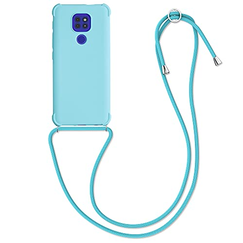 kwmobile Carcasa Colgante Compatible con Motorola Moto G9 Play/Moto E7 Plus...