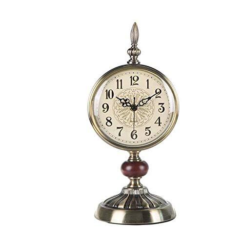 SWNN Reloj Despertador Relojes Retro Europeos De Decoración del Hogar Regalos Ornamentos Europeos Relojes Estudio Estudio