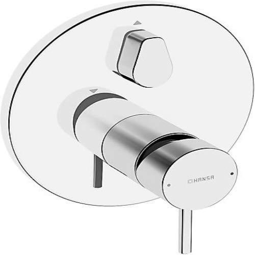 Hansa 87849041 Fertigmontageset / Einhand-Wannen-Batterie HANSASTELA | schrom