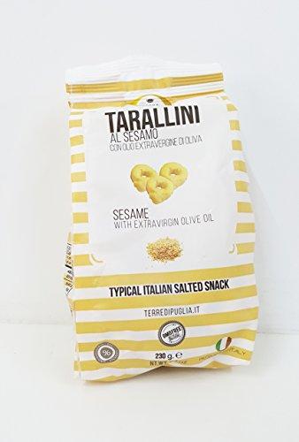 Tarallini mit Sesam und Olivenöl, 230 g