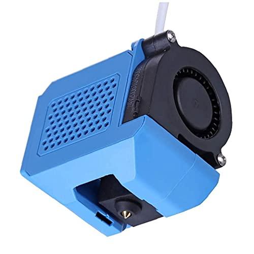 Impresora 3D Extrusora Kit Montado con aluminio Calefacción bloque de toberas 0 4 mm Compatible con CR-10 V2 Suministros Hardware