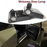 4PCS Sportello d'auto ha condotto il marchio lampada del proiettore di...