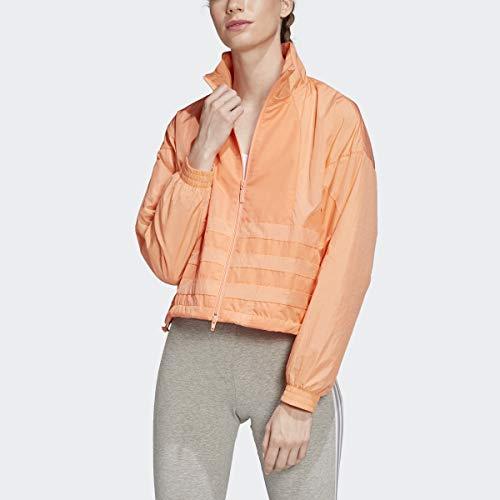 adidas Originals Top grande con logotipo para mujer - naranja - Large