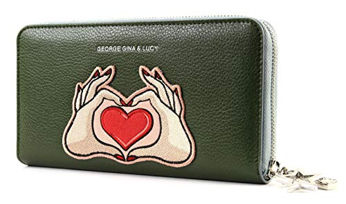 George Gina & Lucy Let Her Wallet Viltvolt Olive Patch