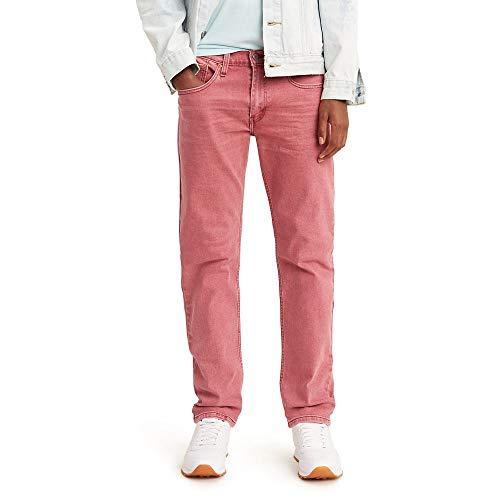 Levi's Herren 502 Regular Taper Fit Jeans, Burnt Russet Whiskers-Stretch, 36W / 29L