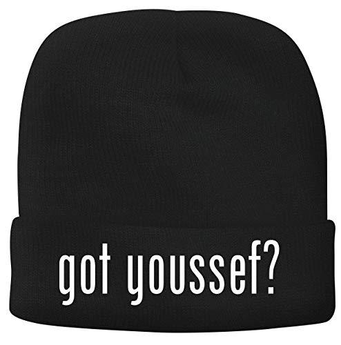 BH Cool Designs got Youssef? - Men's Soft & Comfortable Beanie Hat Cap, Black, One Size