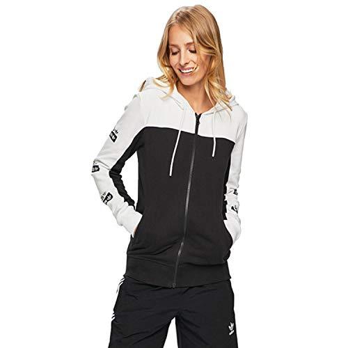 adidas Essentials Sudadera con capucha de 3 rayas para mujer -  Multi -  S