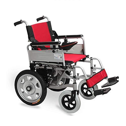 Inicio Accesorios Ancianos Discapacitados Silla de Ruedas Eléctrica Plegable Ancianos Ligeros Discapacitados Doble Automático Batería de Litio Cuatro Ruedas Viejo Scooter - Capacidad de Carga 100 K