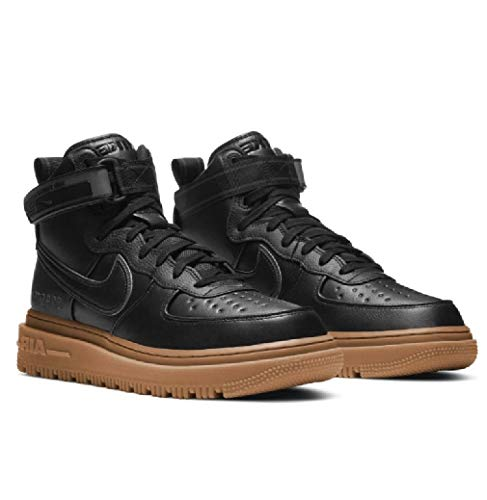 Nike Air Force 1 High Gore-Tex Boot Black Anthracite Gum Brown 2020 CT2815-001 US Size 10.5