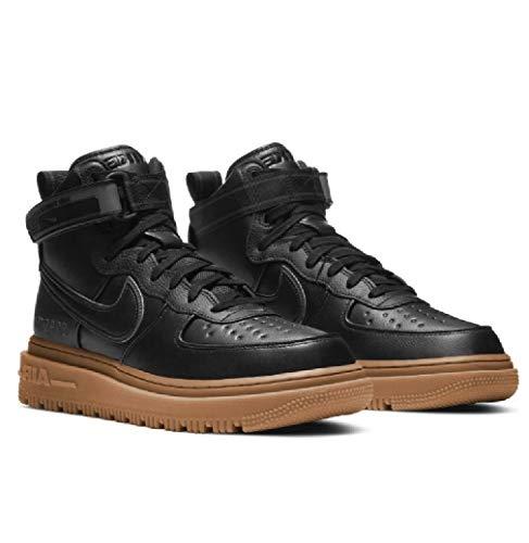 Nike Air Force 1 Alto Gore-Tex Boot Nero Antracite Gum Marrone 2020 CT2815-001 US Dimensione, (Nero/Antracite/Gum Medio Marrone/Nero), 45.5 EU