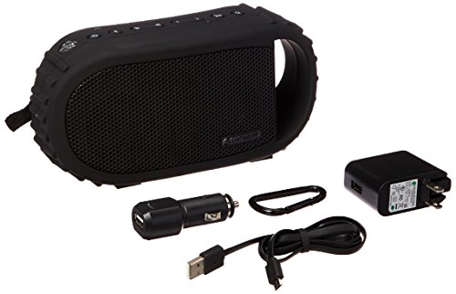 Ecoxgear Ecocarbon Bluetooth Waterproof Speaker (black)