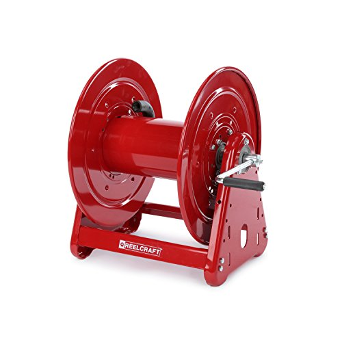 Reelcraft CA33112 L Heavy Duty Hand Crank Hose Reel 100#039 Hose Not Included Red