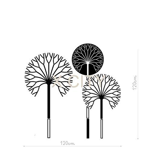 jiushivr wanddekoration Aufkleber monsterCartoon Regenschirm Baum Lounge schneiden kleber Transfer PVC Vinyl abnehmbare Wohnzimmer. Schlafzimmer Wandaufklebercm 168x168cm