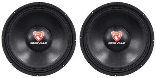 Rockville RVP12W8 1200w 12 inch best bass door speakers