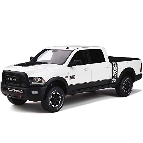 GT Spirit 1:18 2017 Dodge Ram 2500 Power Wagon White GT790
