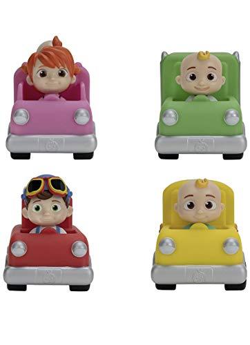 Cocomelon Mini Vehicles Set of 4 - JJ, Tomtom & YoYo