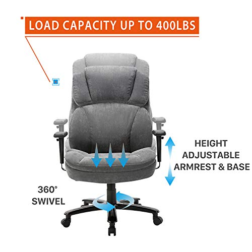CLATINA Big and Tall Office Chair