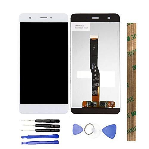 JayTong - visualización LCD y digitalizador de visualización táctil de Repuesto para Huawei Nova CAZ-AL10 CAN-L13 CAN-L03 CAN-L12 CAN-L02 CAN-L11 CAN-L01 5.0inch Blanco