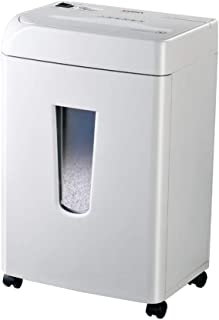 ACQUIRE High-Security Micro-Cut Paper and Credit Card Shredder Pullout Basket, Black (Color : White, Size : 34 25 54cm)