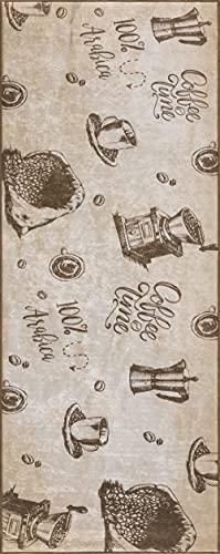 wunderlin Alfombra de pasillo colección cocina lavable diseño moderno valioso