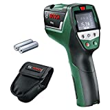Bosch Home and Garden 0603683000 Bosch PTD 1 Thermal Detector, 1.5 W, 1.5 V, Black, Green, Red, 1