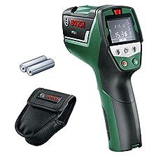 Bosch Infrarot Thermometer PTD 1 (2x AA Batterien, in Schutztasche)©Amazon