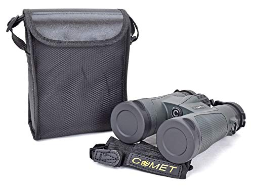 COMET® Fernglas Feldstecher Spektiv Jagdfernglas Binocular 10x42 (Navi Grün)