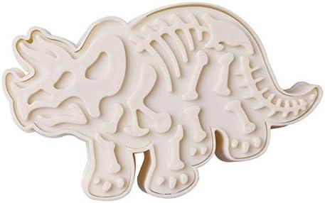 3D Dinosaurus Cookies Cutter Mold Dinosaurus Biscuit Cutter Embossing Mold Sugarcraft Dessert Bakvorm Voor Sop Cookie Gereedschap 1 st