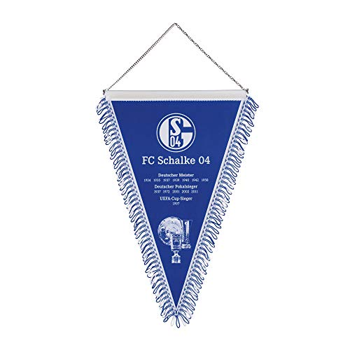 FC Schalke 04 Wimpel Erfolge mittel