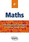 Mathématiques - 250 exercices corrigés...