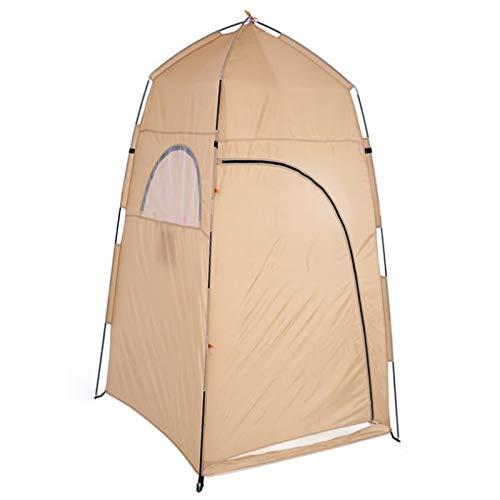 Tienda de campaña de privacidad con bolsa de transporte para ir al aire libre, para acampar o bañar