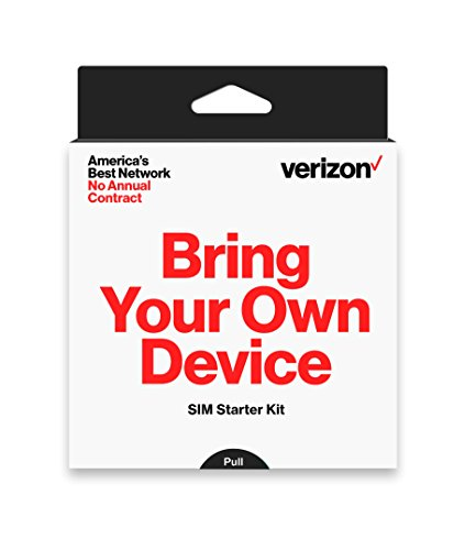 Verizon Prepaid SIM Kit with 3-in-1 SIM (Standard, Micro, Nano)