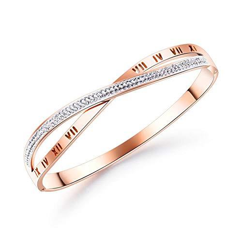 TXDY Cross Armband, Strass Decoratie Armband Verjaardag Valentijnsdag Kerstmis Voor Moeder Dochter