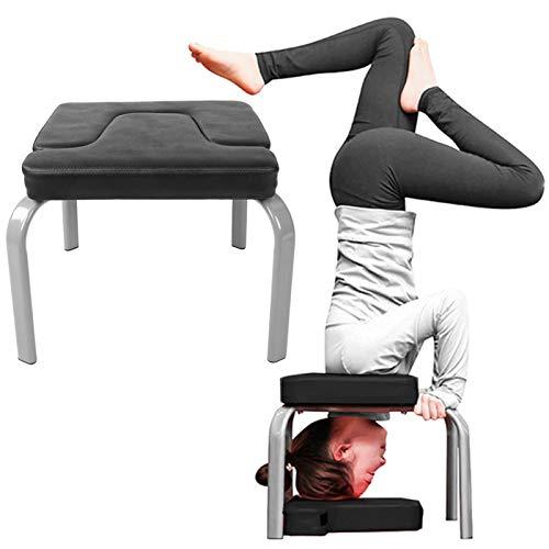 minifinker Taburete invertido Yoga de Alta Resistencia de la Yoga de la Silla Ligera Antideslizante del Handstand, para el hogar