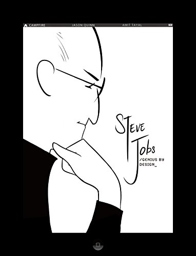 Steve Jobs: Genius by Design: Campfire Biography-Heroes Line (Campfire Graphic Novels)